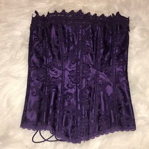 Fredrick's of Hollywood purple corset size 32